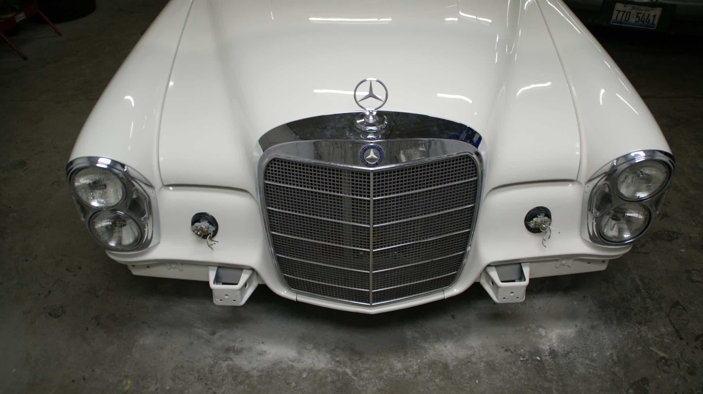 1964 Mercedes 220se Luxury European Service