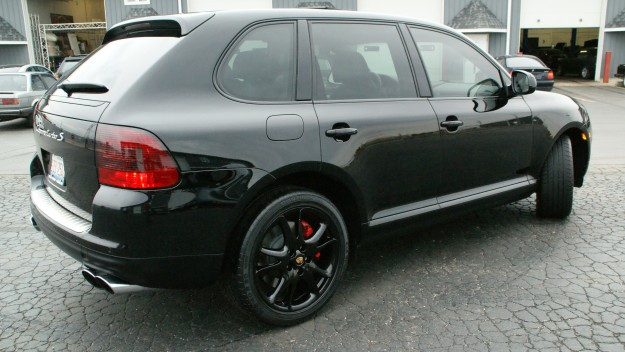 Trim Painting And Detail On A Porsche Cayenne Turbo S