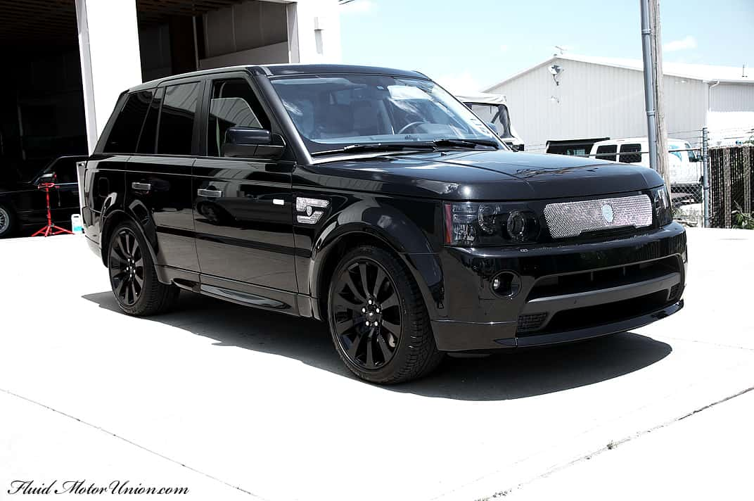 Land Rover Naperville >> Murdered Treatment: Range Rover Sport - Car Repair, & Performance | Fluid MotorUnion | 2108 W ...