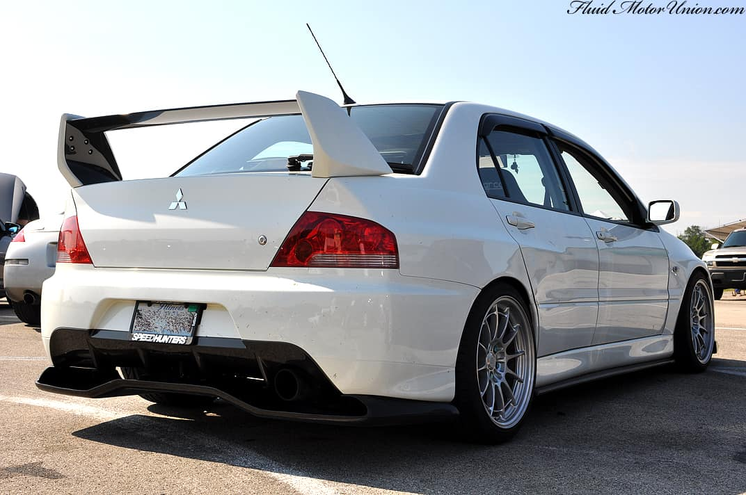 Evo 8 9 Voltex Style Carbon Rear Diffuser W Mounting