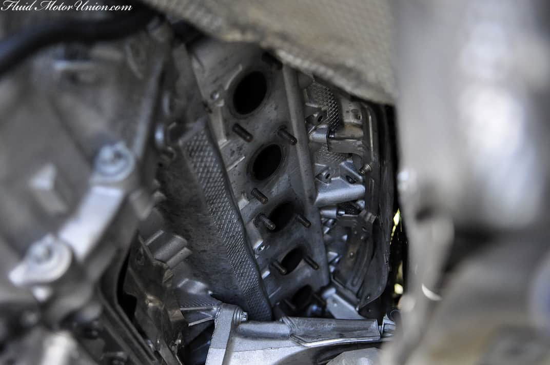 S85: What a Supersprint S85 V10 headers installation on an E63 M6