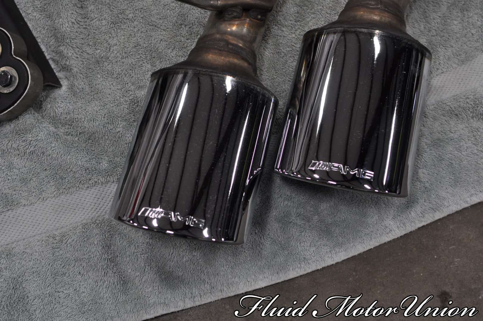 Mercedes benz g500 to g63 exhaust conversion for Mercedes benz aftermarket performance parts
