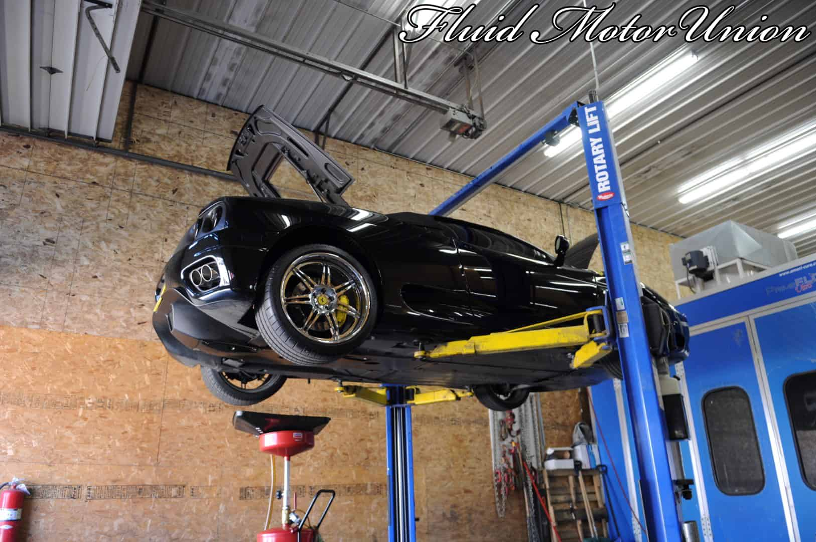 Ferrari Oil Change >> Exotic Service A Ferrari 360 Oil Change Car Repair