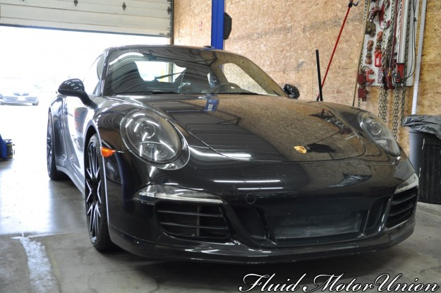 991 Porsche 911 Carrera 4s Winterizing