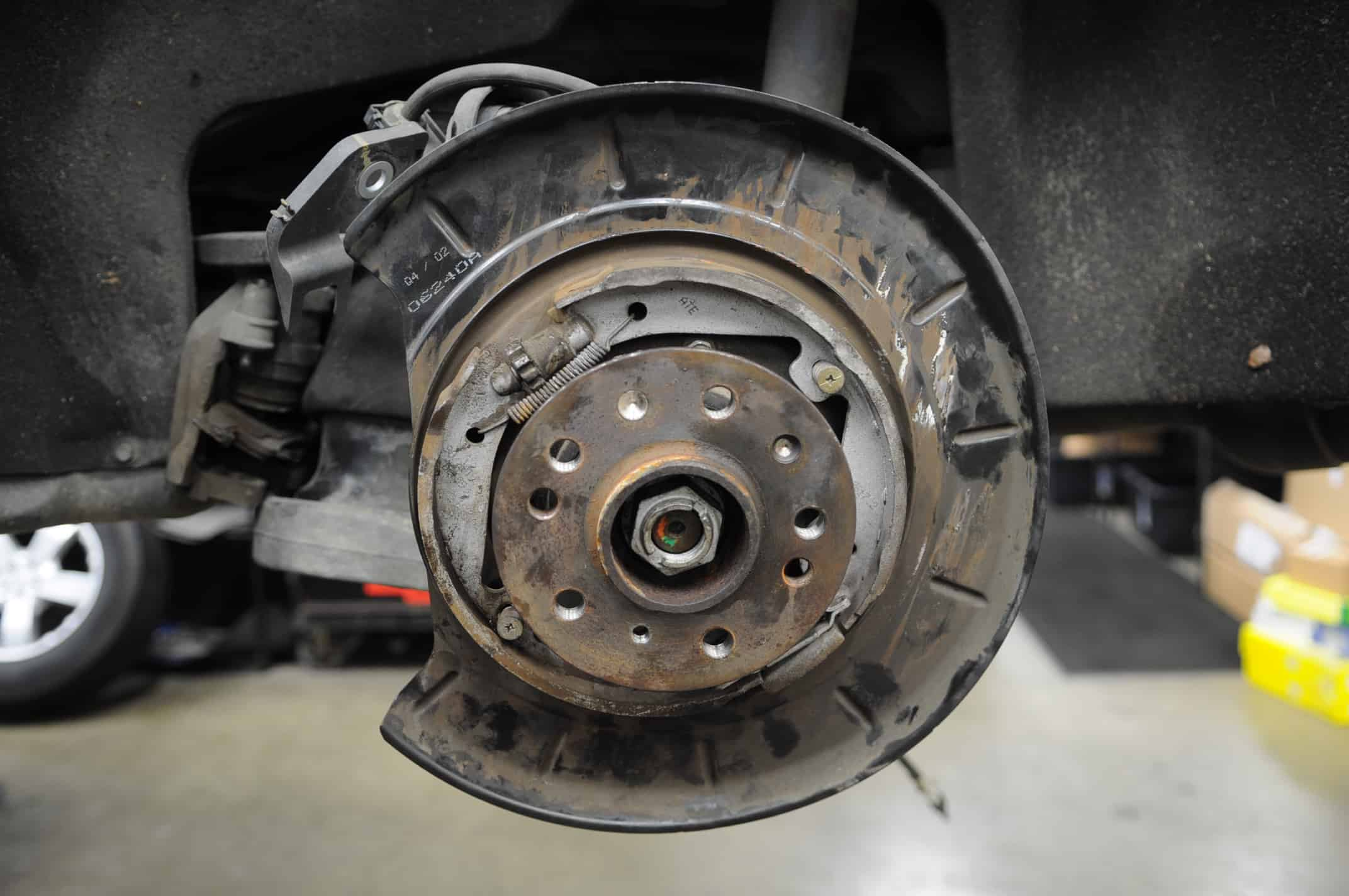 drivers side wheel bearing replacement