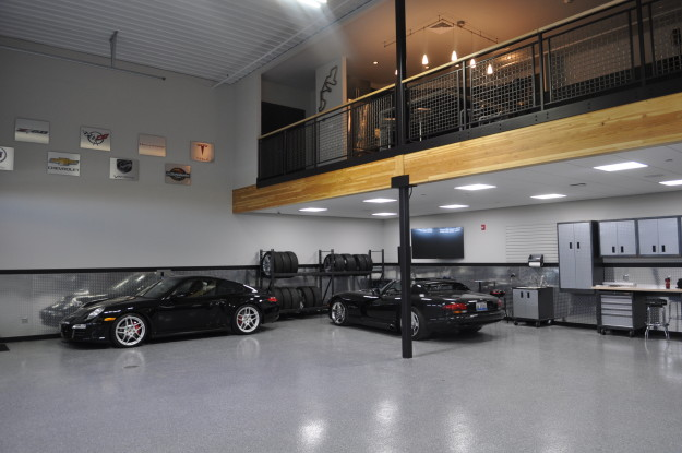 luxury car garage units in houston