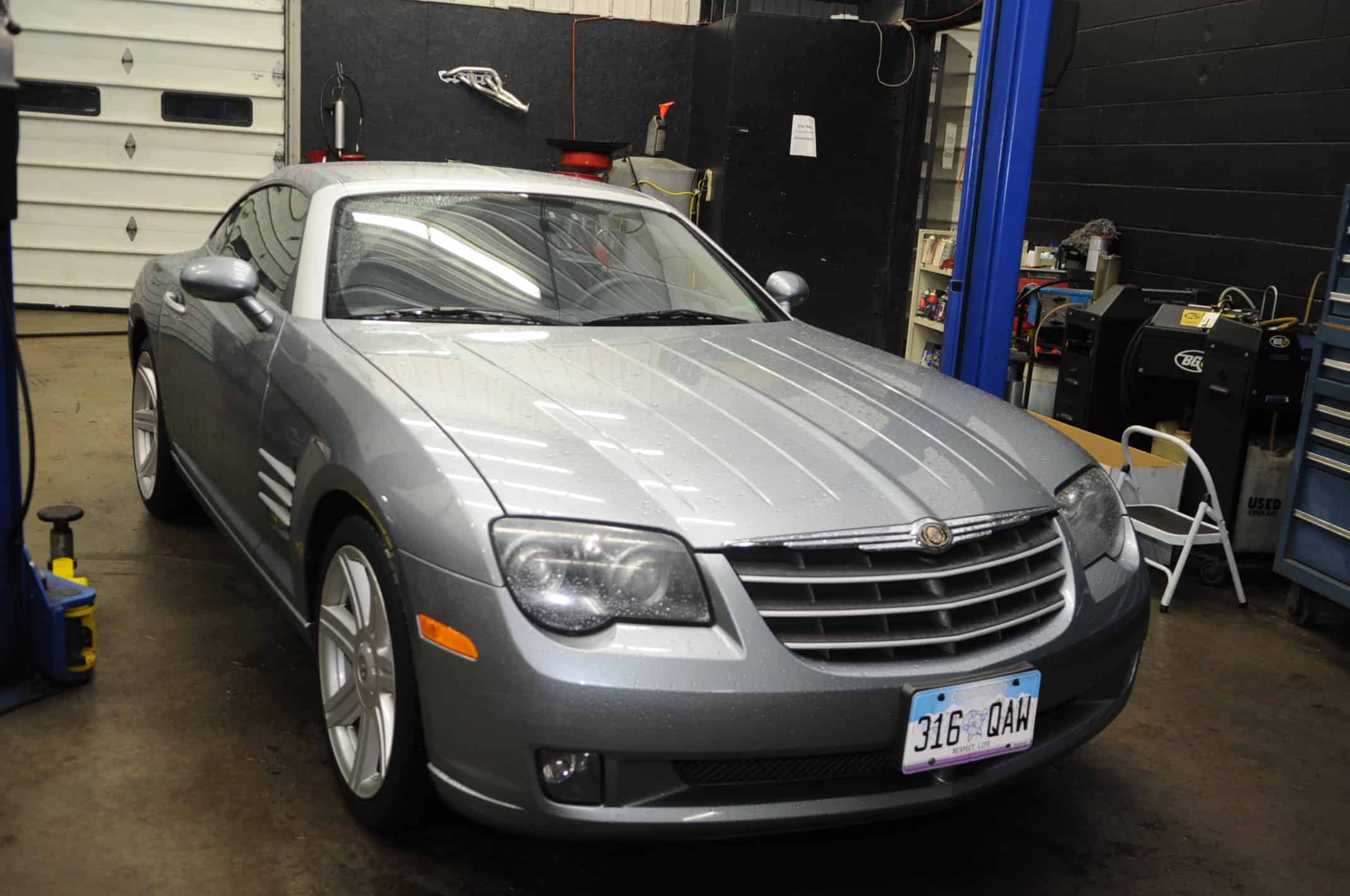 Unconventional oil change 2004 chrysler crossfire 3 2l v6 for 2001 mercedes benz s55 amg