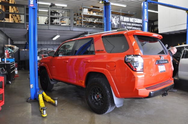 Toyota 4Runner TRD Pro Cold Air Intake Install (2)