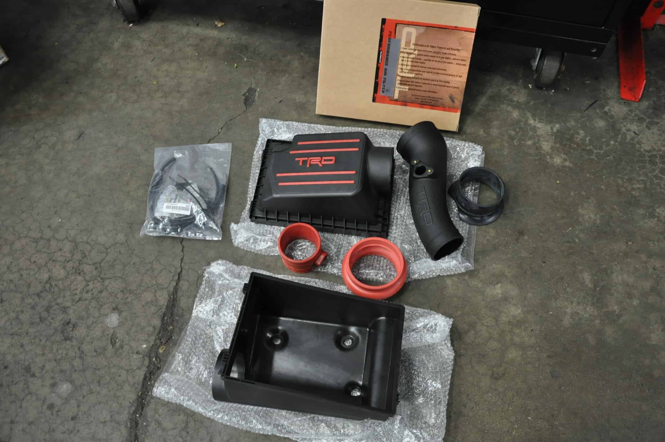 Toyota 4runner Trd Pro Cold Air Intake Install 6