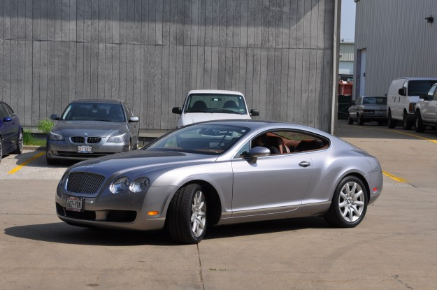 5 Bentley Continental AC Recharge
