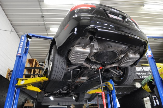 Audi A4 Billy Boat Cat Back Exhaust System Install 1