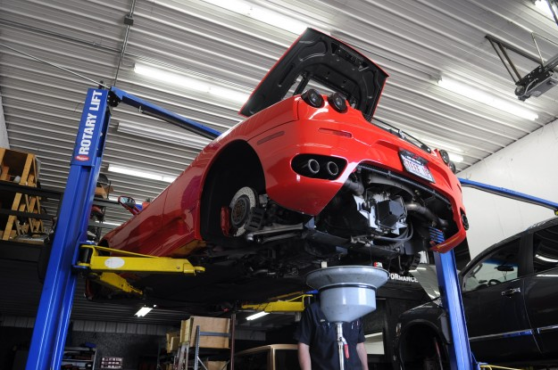 ferrari-f430-oil-change-and-transmission-service-chicago-4