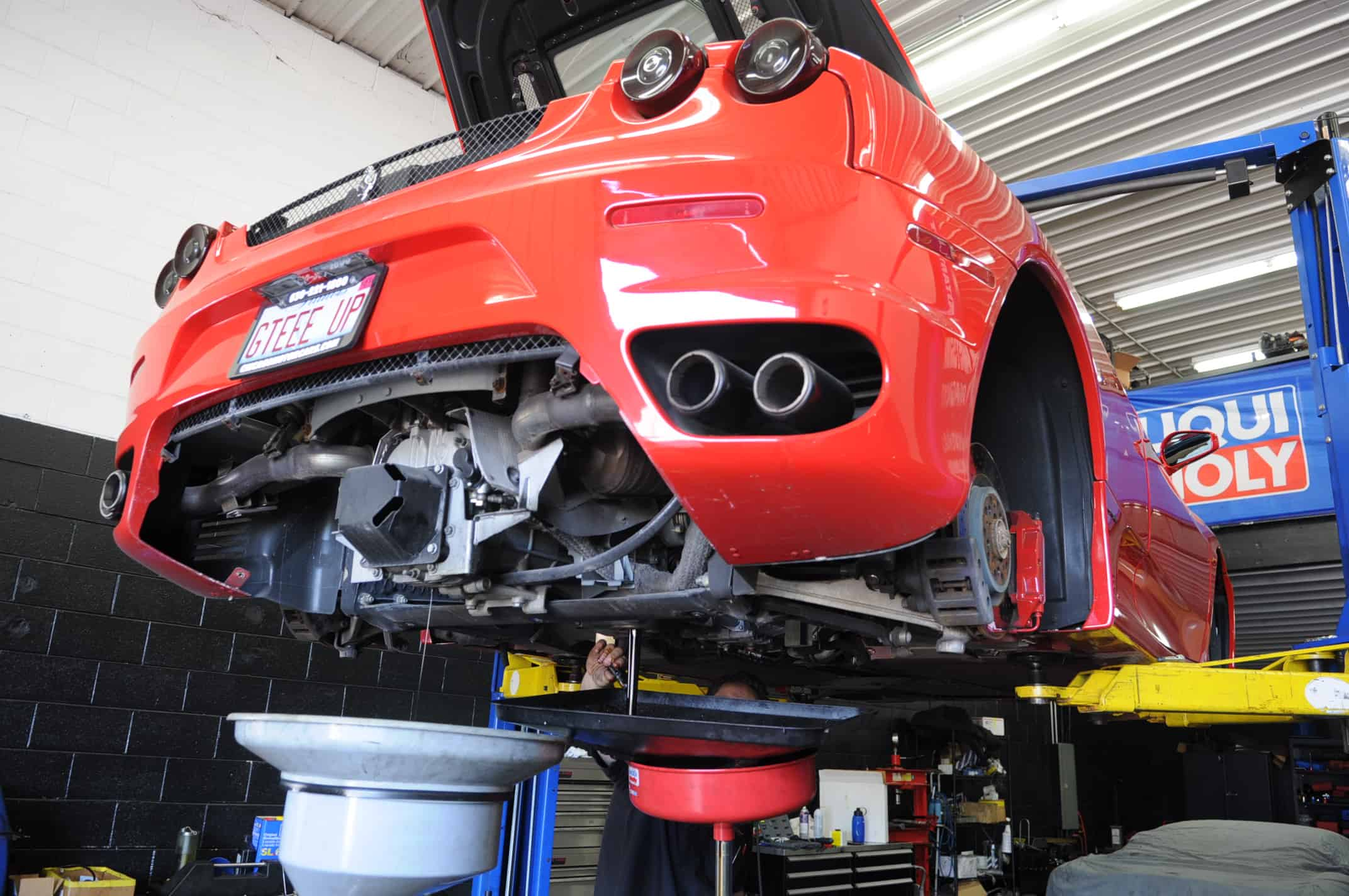 Ferrari Oil Change >> Ferrari Service F430 Oil Change Transmission Chicago