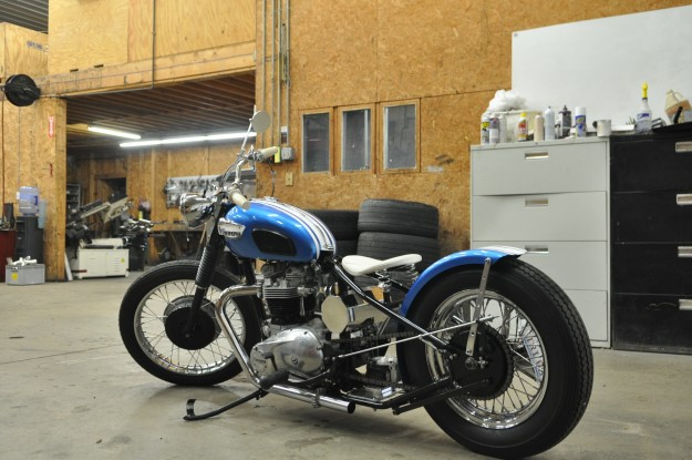 1968 Triumph Bonneville Motorcycle Fabrication (5)