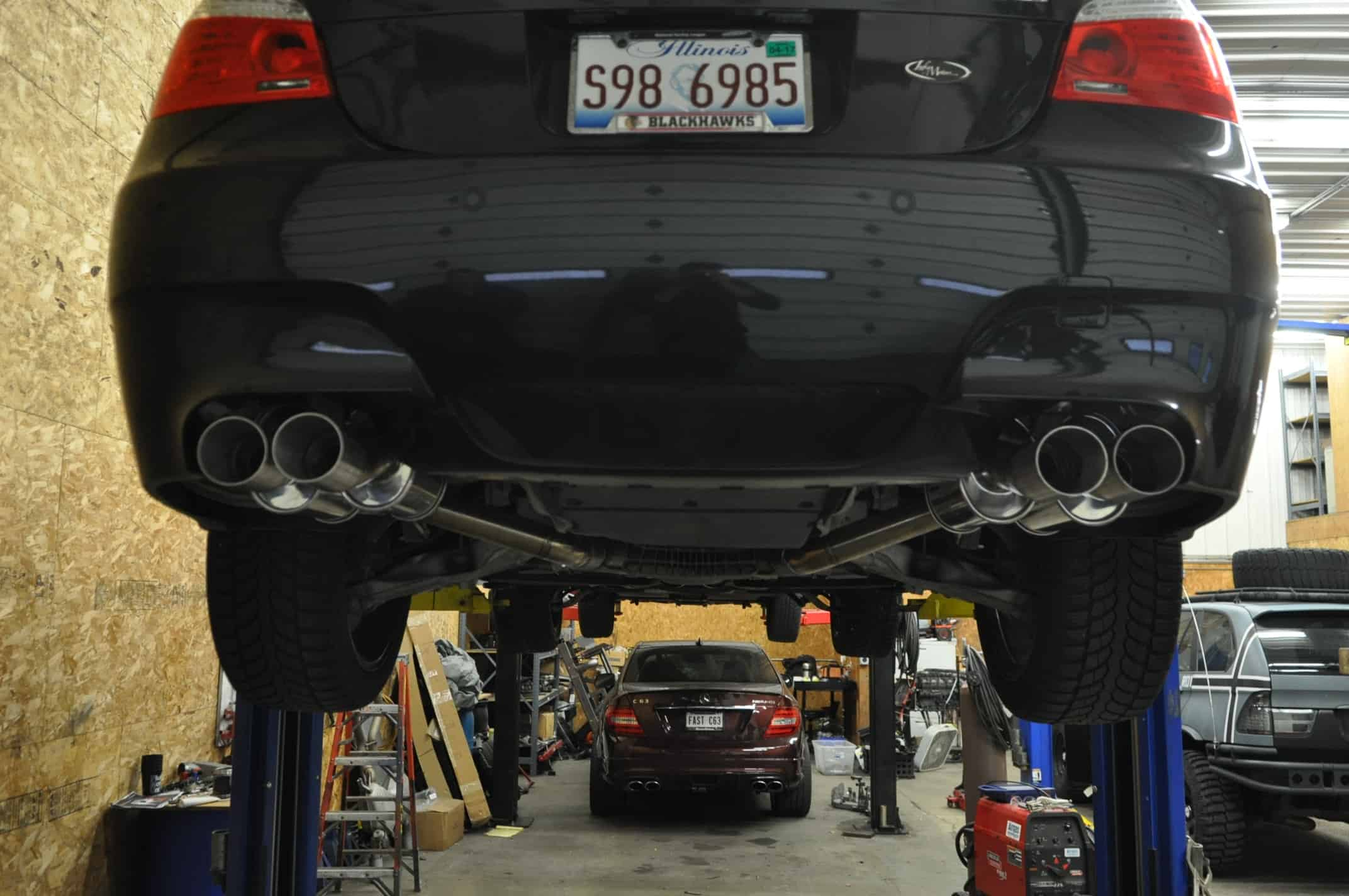 E60 M5 Rear Section Exhaust (3)