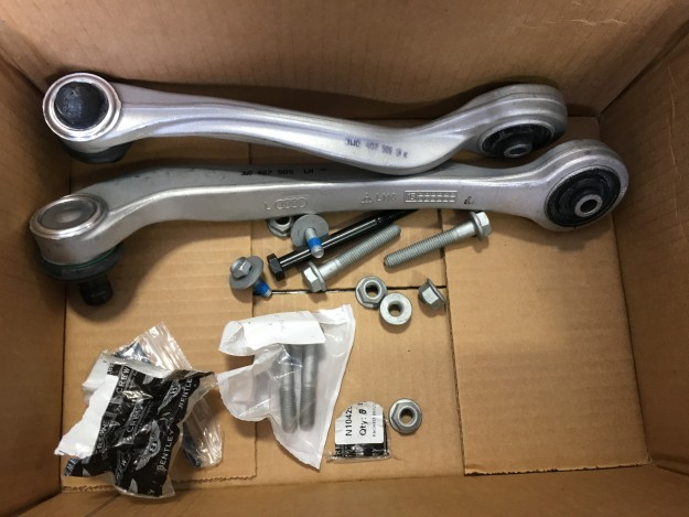 Bentley Continental GT Front Air-Strut Replacement
