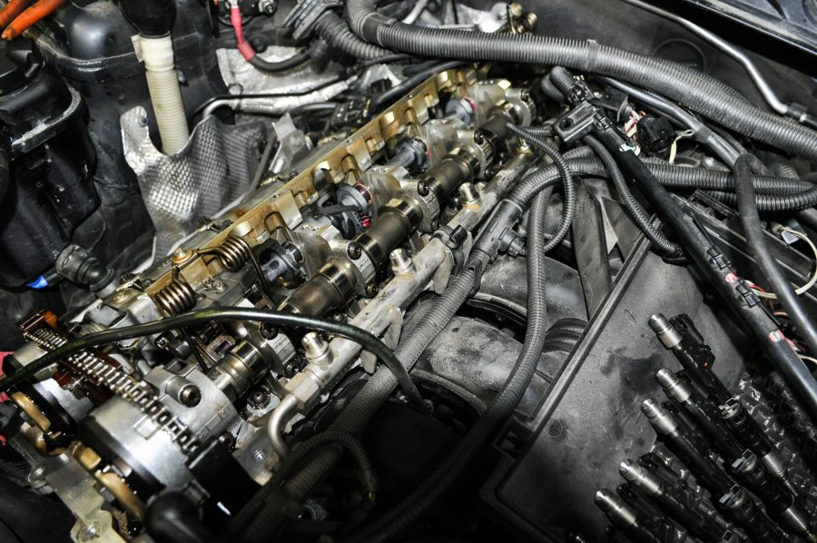Fixing a BMW Valvetronic eccentric shaft failure codes