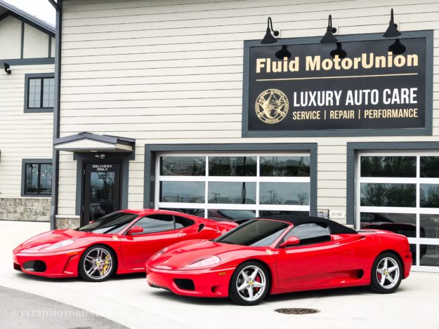 Emissions Test Failed in Naperville two Ferrari's 360 430