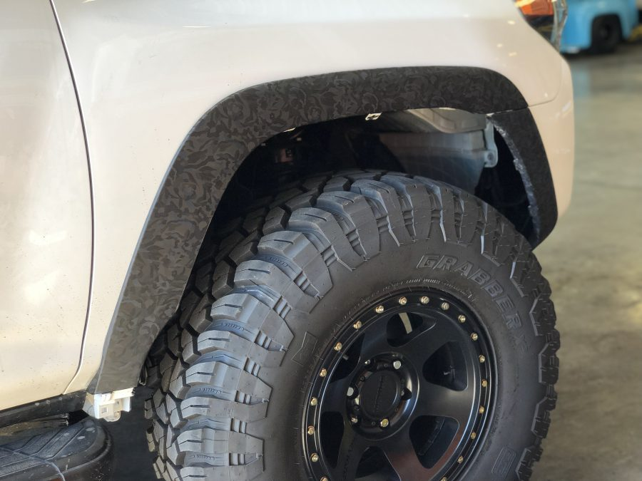 5th Gen 4Runner 35 Inch Tire Installation Finished without Mud Flaps