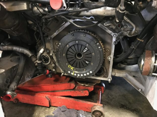 Audi R8 Clutch Replacement means the new clutch is properly aligned and orientated.