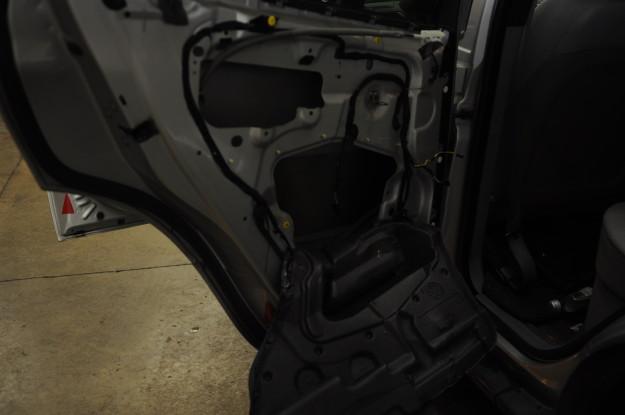 2002 BMW X5 4.4 E53 Window rear regulator stuck down left Diy inside door panel removed window motor