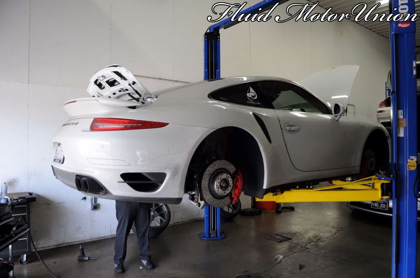 991 Porsche 911 Turbo Pagid Yellow Brake Pad Install Car Repair Engine Diagram 1 Wheel Removal