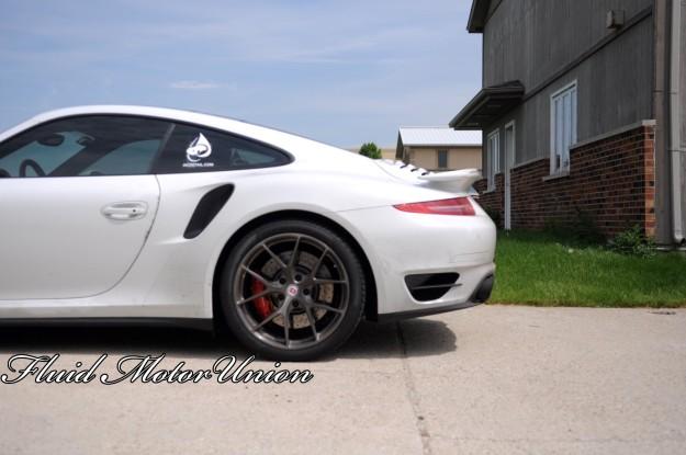 11 991 Porsche 911 Turbo Pagid Yellow Brake Pad Install porsche service HRE Wheels track pads