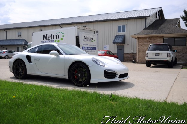 13 991 Porsche 911 Turbo Pagid Yellow Brake Pad Install porsche service plainfield