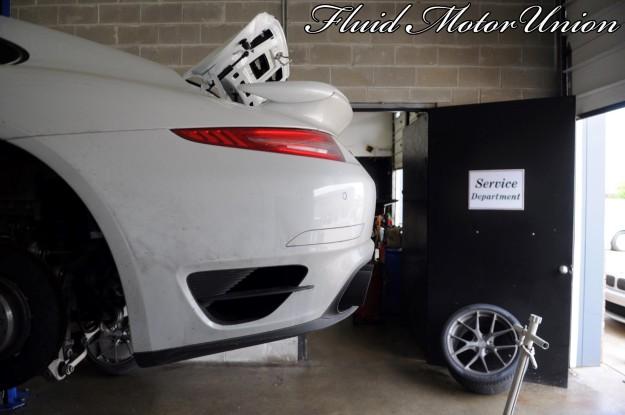 3 991 Porsche 911 Turbo Pagid Yellow Brake Pad Install porsche service