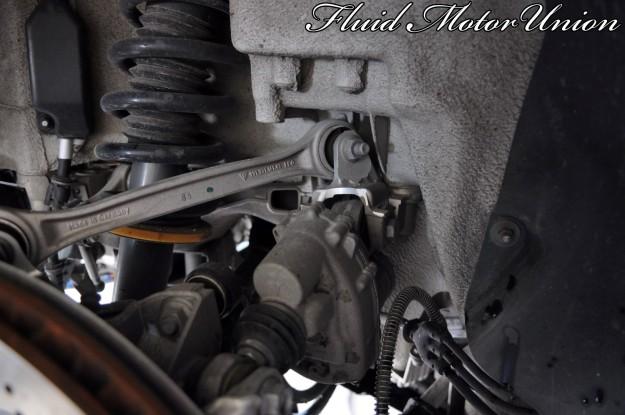6 991 Porsche 911 Turbo Pagid Yellow Brake Pad Install rear axle steering