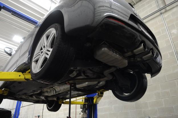 Volkswagen Golf R Exhaust Install (1)