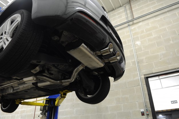 Volkswagen Golf R Exhaust Install (6)