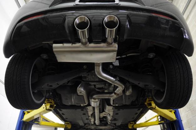 Volkswagen Golf R Exhaust Install (7)
