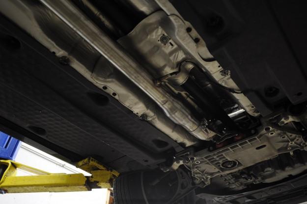 Volkswagen Golf R Exhaust Install (8)