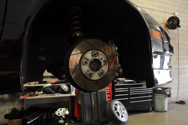 Acura NSX Brake Repair and Caliper Powder Coating (6)