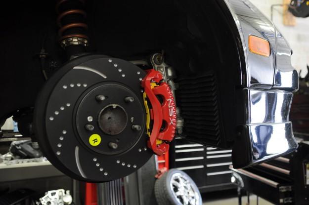 Acura NSX Brake Repair and Caliper Powder Coating (7)