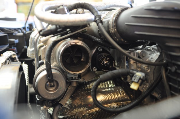 Mercedes Benz CLA45 AMG Downpipe Install 1