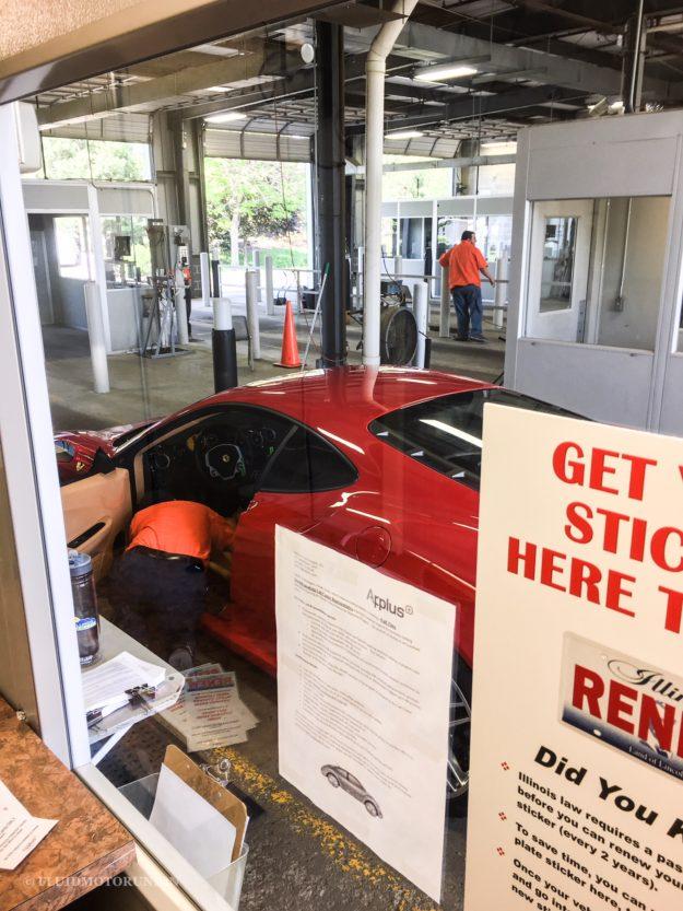 This Ferrari 360 Emissions Test Failed in Naperville
