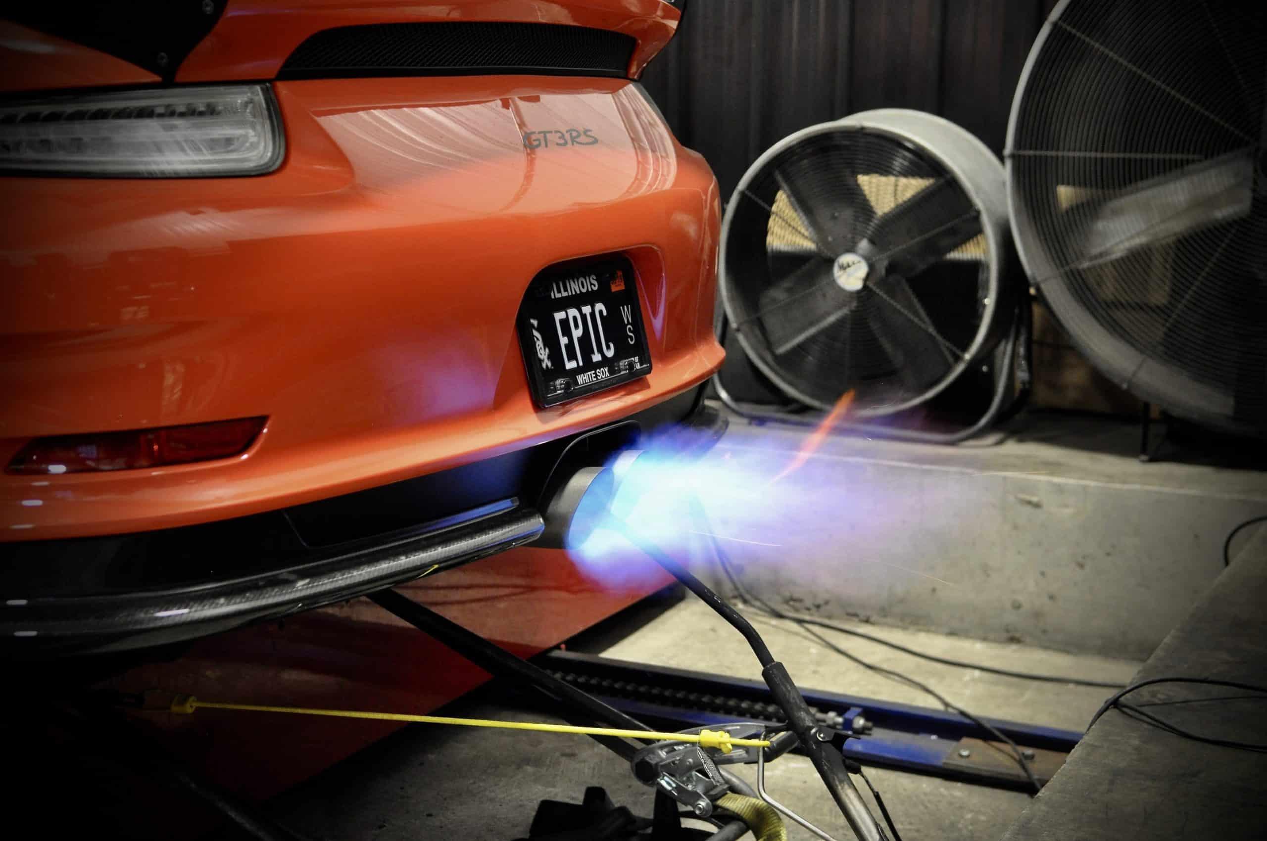 Porsche GT3RS (Fire)